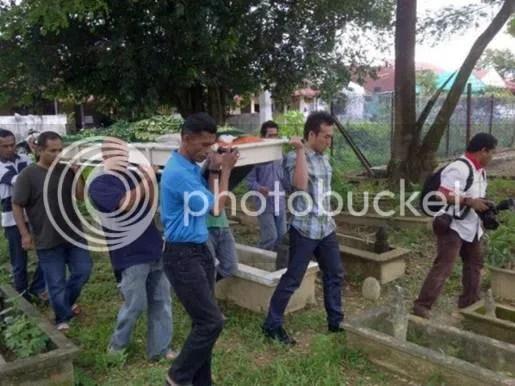 adik khairul fahmi meninggal dunia