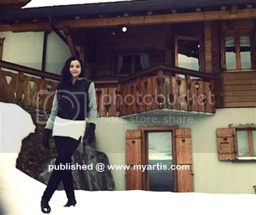 gambar honeymoon lisa dan yusry