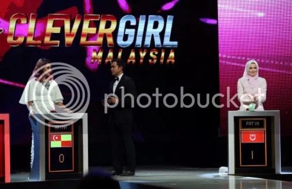 tahniah) fatin daripada kelantan juara clever girl malaysia, bawaclever girl malaysia memilih 14 gadis untuk mewakili setiap negeri yang ada di malaysia dan penyingkiran diadakan setiap minggu bagi peserta yang mendapat