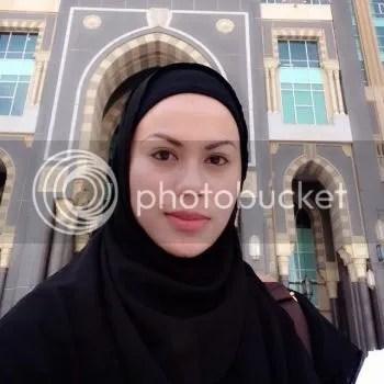 rebecca nur islam bertudung