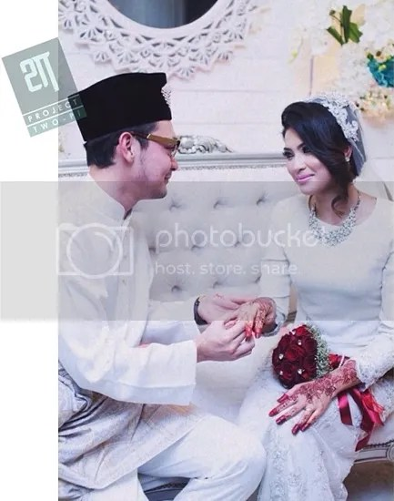 gambar perkahwinan aril af dan puteri erma