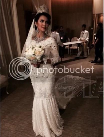 gambar perkahwinan rozita che wan