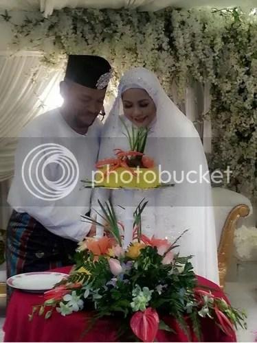 gambar perkahwinan wan maimunah