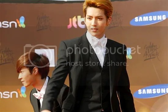golden disk award red carpet