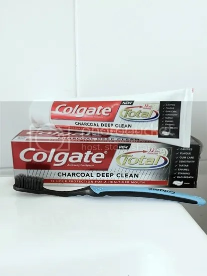colgate total charcoal deep clean