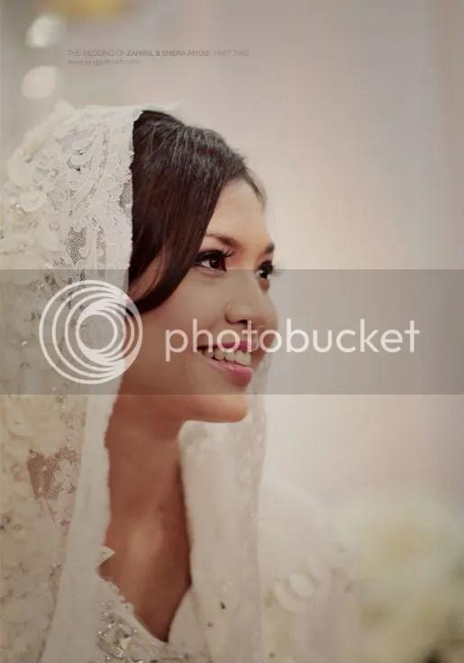 gambar perkahwinan zahiril adzim shera ayob