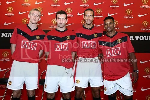 manchester united at malaysia