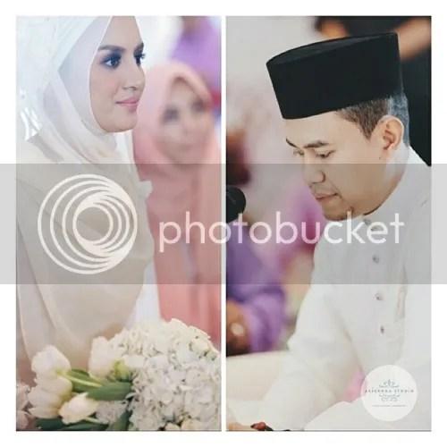 gambar kahwin hanez suraya romie