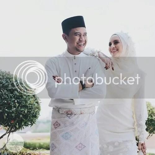Kecut Dan Pudar Tiada Lagi: Gambar Kahwin Hanez Suraya