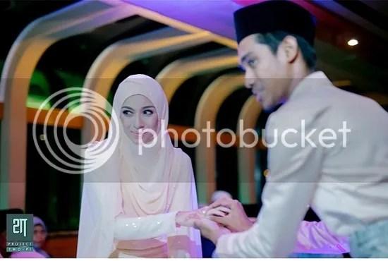 gambar kahwin faralyna