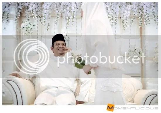 gambar kahwin Hairie Othman