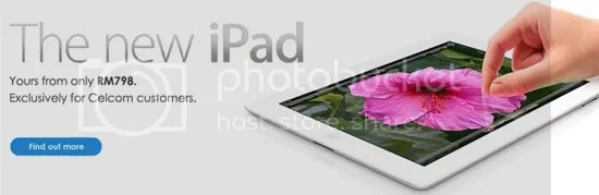 the new iPad celco