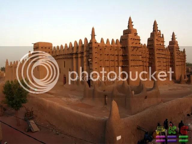 Djenna Mosque, Timbuktu, Mali