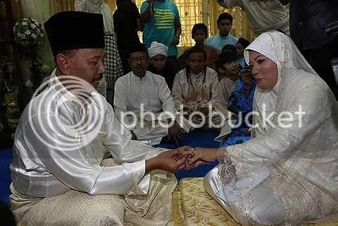 gambar kahwin zaibo