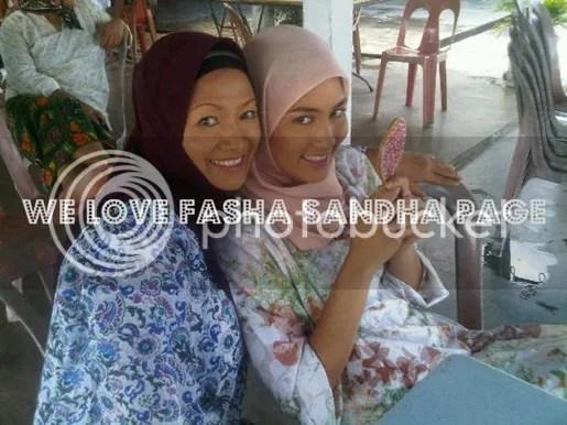 gambar fasha sandha bertudung