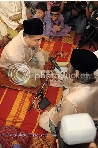 gambar perkahwinan datuk sani