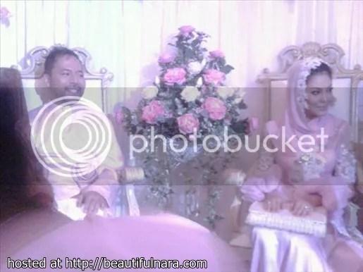 gambar resepsi kahwin umie aida