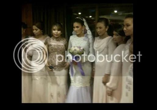 gambar pernikahan fasha dan jejai