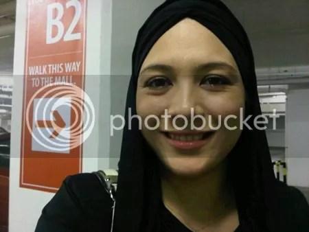 gambar sharifah sofia bertudung