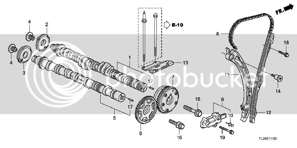 Accord Euro Engine Chain