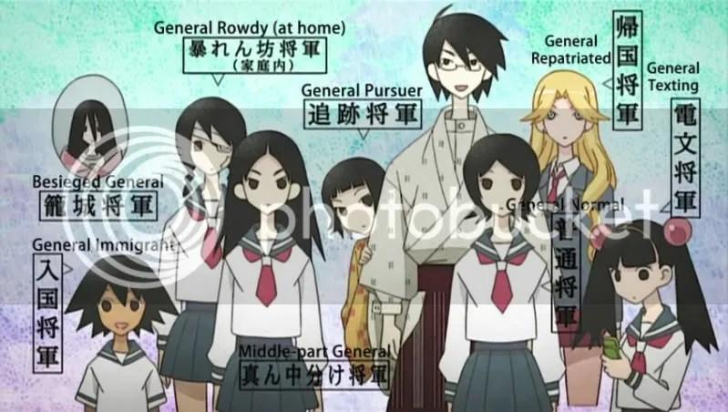 Many generals