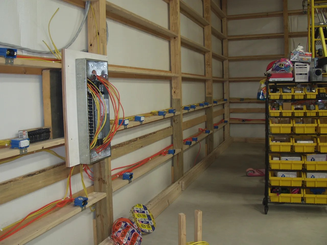 Wiring Pole Barn