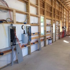 How To Wire A Garage Diagram Driving Lights Wiring Pole Barn 40x64x16 - Page 11