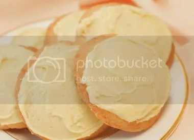 Lemon-iced Sugar Cookies Pictures, Images and Photos