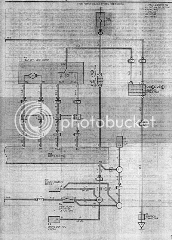 Ecu Wiring Harness As Well 1996 Toyota 4runner Ecu Wiring Diagram