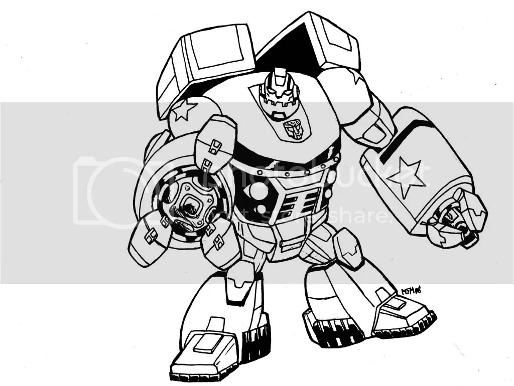 bulkhead transformer Colouring Pages