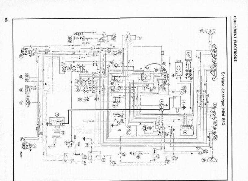 Schema electrique austin mini