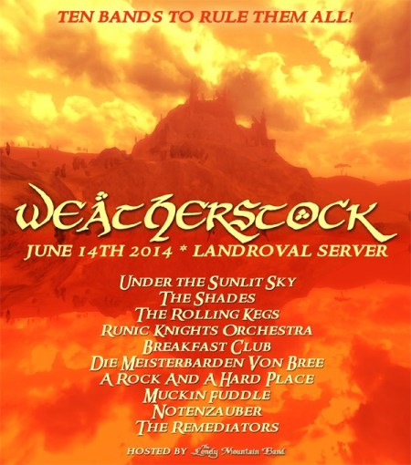 Landroval Weatherstock 2014