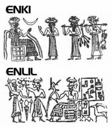 Resultado de imagen de IGIGI: DIOSES que se ENFRENTARON contra los ANUNNAKI