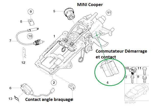 [ Mini Cooper an 2006 ] Problème de démarrage (résolu)