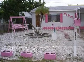 pink house accessories