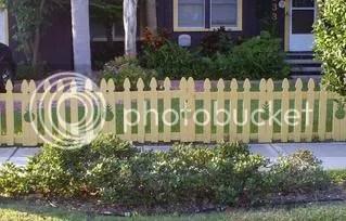 pineapple fence