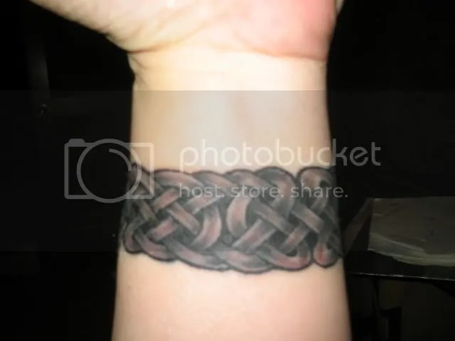 Wrist Band Celtic Tattoo