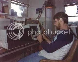 Gary Kildall dengan komputernya