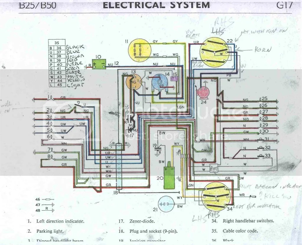 hight resolution of bsa b50 wiring diagram wiring libraryb50 wiring for blinkers i need some direction britbike forum linked image broan 7004