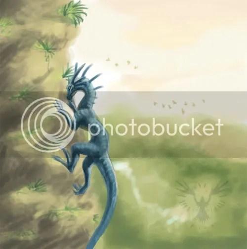 Climbing Dragon WIP I