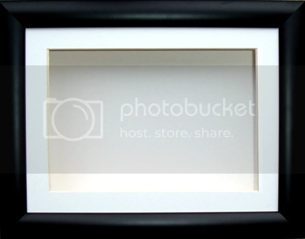 5X8 Picture Frame Black