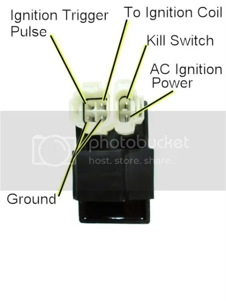 110cc Atv Five Wire Cdi Diagram Cdi Pinout Compatibility Atvconnection Com Atv