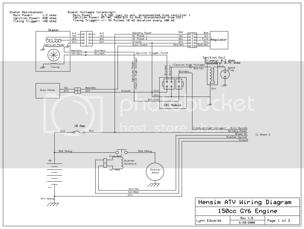 hight resolution of 150 cc taotao won t start no spark page 2 2014 taotao 50 wiring diagram taotao