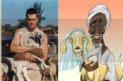 Brady Loves Goats