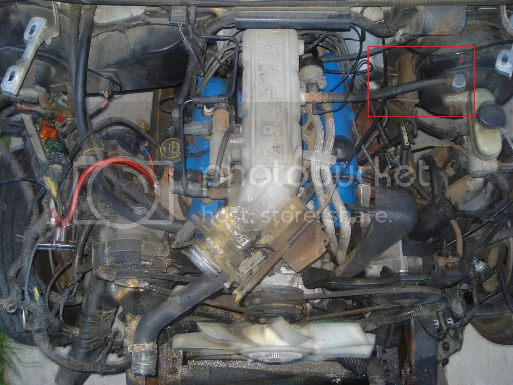 hight resolution of 2 9l ford engine wiring wiring diagram ford bronco 2 engine replacement bronco 2 engine compartment