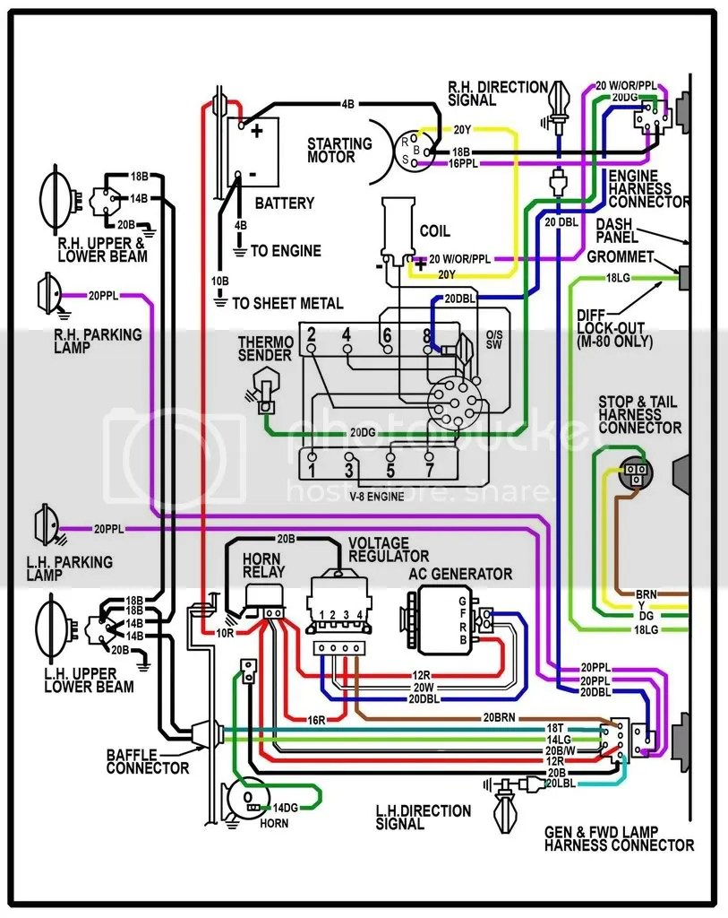 hight resolution of 67 c10 wiring harness wiring diagram inside 67 chevy truck wiring harness