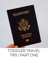 travel with toddler one