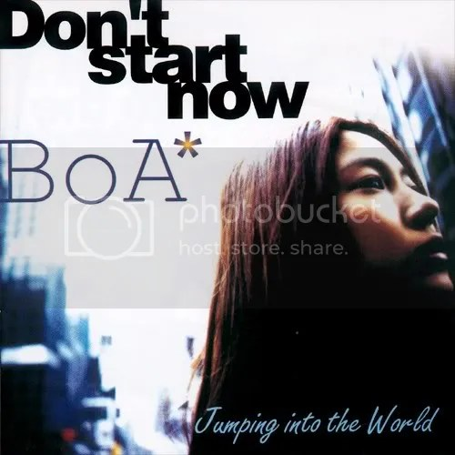 BoA-DOn't Start Now cover