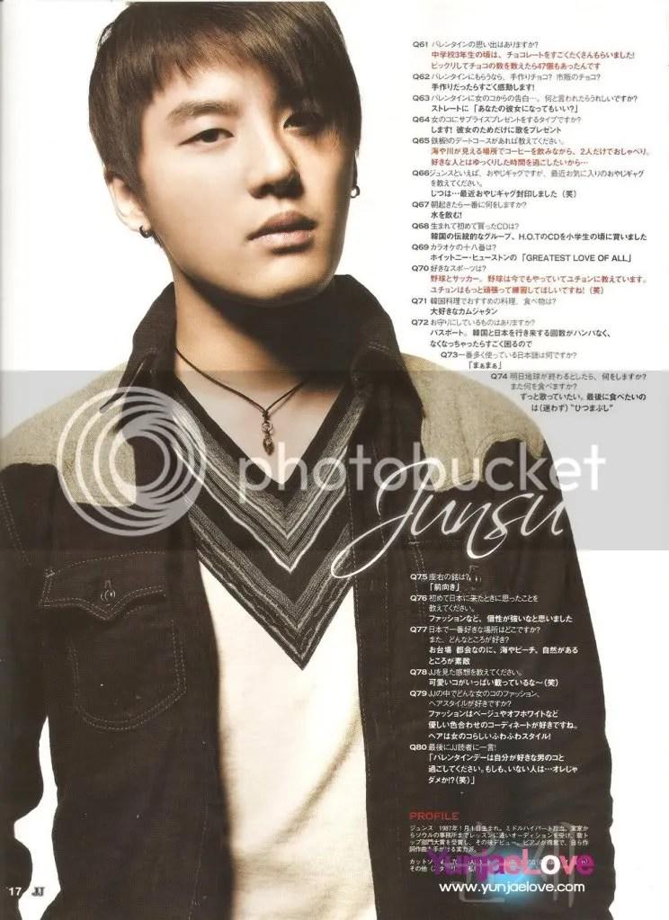 junsu-jjmagazine