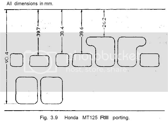 Honda Mt125r Iii Porting Diagram Pictures, Images & Photos